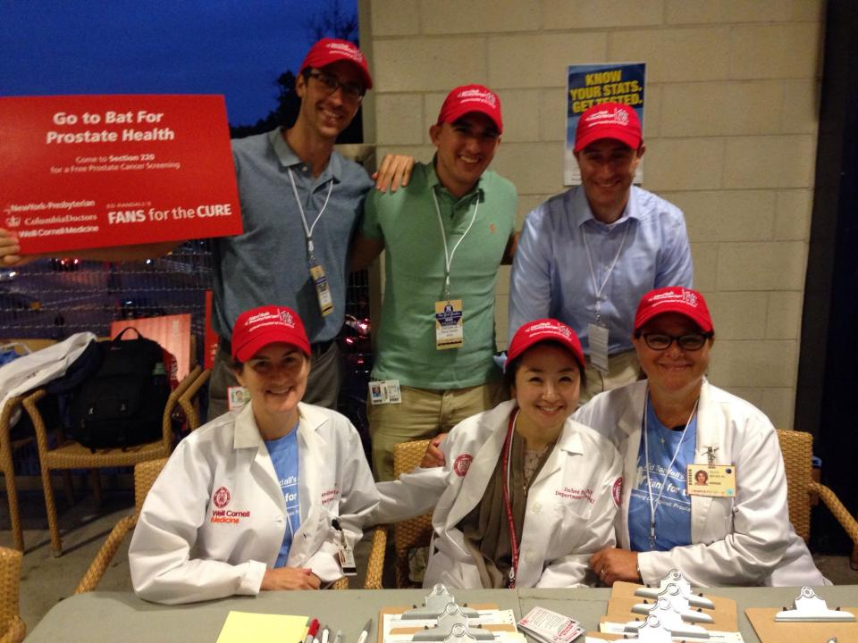 Yankee Stadium Prostate Cancer Screening